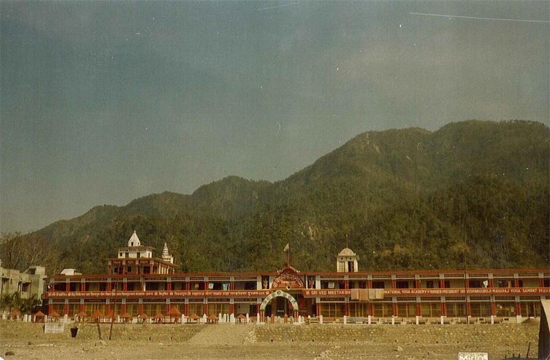 Ved Niketan ashram near Rishikesh, North India