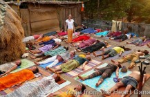 Group shavasana